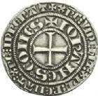 Photo numismatique  ARCHIVES VENTE 2013 -Coll Henri Dolet MONNAIES DU HAINAUT - VALENCIENNES Comté de HAINAUT JEAN II d'Avesnes (1280-1304) 428- Gros tournois, (Valenciennes), en 1303/1304.