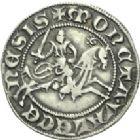 Photo numismatique  ARCHIVES VENTE 2013 -Coll Henri Dolet MONNAIES DU HAINAUT - VALENCIENNES Comté de HAINAUT MARGUERITE de Constantinople (1244-1280) 422- Baudekin du 4ème type, Valenciennes.