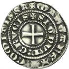 Photo numismatique  ARCHIVES VENTE 2013 -Coll Henri Dolet MONNAIES DU HAINAUT - VALENCIENNES Comté de HAINAUT MARGUERITE de Constantinople (1244-1280) 421- Baudekin du 1er type, Valenciennes à partir de 1269.