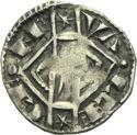 Photo numismatique  ARCHIVES VENTE 2013 -Coll Henri Dolet MONNAIES DU HAINAUT - VALENCIENNES Comté de HAINAUT JEANNE de Constantinople (1205-1244) 418- Maille semi-muette, Valenciennes.