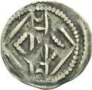 Photo numismatique  ARCHIVES VENTE 2013 -Coll Henri Dolet MONNAIES DU HAINAUT - VALENCIENNES Comté de HAINAUT MAILLES MUETTES (fin XIIe - début XIIIe) 412- Maille muette.