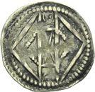 Photo numismatique  ARCHIVES VENTE 2013 -Coll Henri Dolet MONNAIES DU HAINAUT - VALENCIENNES Comté de HAINAUT MAILLES MUETTES (fin XIIe - début XIIIe) 411- Maille muette.