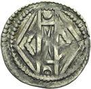 Photo numismatique  ARCHIVES VENTE 2013 -Coll Henri Dolet MONNAIES DU HAINAUT - VALENCIENNES Comté de HAINAUT MAILLES MUETTES (fin XIIe - début XIIIe) 410- Maille muette.
