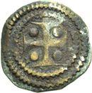 Photo numismatique  ARCHIVES VENTE 2013 -Coll Henri Dolet MONNAIES DU HAINAUT - VALENCIENNES Comté de HAINAUT MAILLES MUETTES (XIIe siècle) 409- Maille muette.