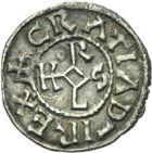 Photo numismatique  ARCHIVES VENTE 2013 -Coll Henri Dolet MONNAIES DU HAINAUT - VALENCIENNES CAROLINGIENS - Charles le Chauve (840-875)  404- Denier frappé à Valenciennes après 869.