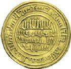 Photo numismatique  ARCHIVES VENTE 2013 -Coll Henri Dolet BARONNIALES et ETRANGERES ALMORAVIDES Yusuf ben Tashfin (1087-1106) 399-Dinar frappé à Aghmat, en 488H = 1095.