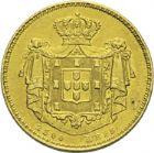 Photo numismatique  ARCHIVES VENTE 2013 -Coll Henri Dolet BARONNIALES et ÉTRANGERES PORTUGAL MARIE II (1834-1853) 397- 2 500 reis or, Lisbonne 1851.