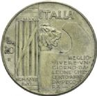 Photo numismatique  ARCHIVES VENTE 2013 -Coll Henri Dolet BARONNIALES et ÉTRANGERES ITALIE SAVOIE-SARDAIGNE, Victor Emmanuel III (1900-1943) 394- 20 lire, Rome 1928.
