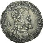 Photo numismatique  ARCHIVES VENTE 2013 -Coll Henri Dolet BARONNIALES et ÉTRANGERES ITALIE NAPLES, Philippe II (1556-1598) 391- Demi-ducaton frappé à Naples.
