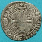 Photo numismatique  MONNAIES BARONNIALES Dauphins du VIENNOIS LOUIS II (1440-1456), futur Louis XI de France Petit blanc.