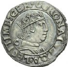 Photo numismatique  ARCHIVES VENTE 2013 -Coll Henri Dolet BARONNIALES et ETRANGERES ITALIE NAPLES, Ferdinand Ier (1458-1494) 390- Coronat frappé à Naples.