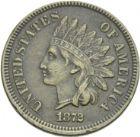 Photo numismatique  ARCHIVES VENTE 2013 -Coll Henri Dolet BARONNIALES et ÉTRANGERES ÉTATS-UNIS d'AMÉRIQUE du NORD  387- One cent, 1872.