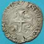 Photo numismatique  MONNAIES BARONNIALES Seigneurie de TREVOUX PIERRE II de Bourbon (1488-1503) Blanc.