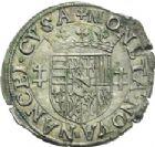 Photo numismatique  ARCHIVES VENTE 2013 -Coll Henri Dolet BARONNIALES et ÉTRANGERES Duché de LORRAINE CHARLES III (1545-1608) 380- Quart de teston frappé à Nancy (1564-1574).