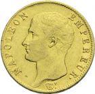 Photo numismatique  ARCHIVES VENTE 2013 -Coll Henri Dolet MODERNES FRANÇAISES NAPOLEON Ier, empereur (18 mai 1804- 6 avril 1814)  348- 20 francs or, Turin, 1806.