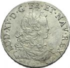 Photo numismatique  ARCHIVES VENTE 2013 -Coll Henri Dolet ROYALES FRANCAISES LOUIS XV (1er septembre 1715-10 mai 1774)  335- Ecu de France, frappé à Bourges en 1724.