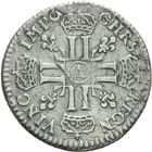 Photo numismatique  ARCHIVES VENTE 2013 -Coll Henri Dolet ROYALES FRANCAISES LOUIS XIV (14 mai 1643-1er septembre 1715)  324- Lot.