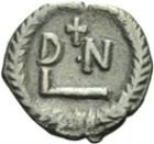 Photo numismatique  ARCHIVES VENTE 2013 -Coll Henri Dolet PEUPLES BARBARES VANDALES GELIMER (530-533) 321- GÉLIMER (530-533). 50 nummi, Carthage.