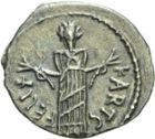 Photo numismatique  ARCHIVES VENTE 2013 -Coll Henri Dolet PEUPLES BARBARES VANDALES HILDÉRIC (523-530) 320- 50 nummi, Carthage.