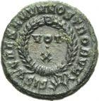 Photo numismatique  ARCHIVES VENTE 2013 -Coll Henri Dolet EMPIRE ROMAIN Lot de monnaies diverses  296- Lot.
