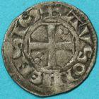 Photo numismatique  MONNAIES BARONNIALES Duché de BOURGOGNE HUGUES IV (1218-1272) Denier d'Auxonne.