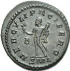 Photo numismatique  ARCHIVES VENTE 2013 -Coll Henri Dolet EMPIRE ROMAIN Lot de monnaies diverses  284- Lot.