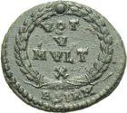 Photo numismatique  ARCHIVES VENTE 2013 -Coll Henri Dolet EMPIRE ROMAIN JOVIEN (363-364)  276- Bronze frappé à Sirmium.