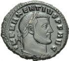 Photo numismatique  ARCHIVES VENTE 2013 -Coll Henri Dolet EMPIRE ROMAIN MAXENCE (Princeps 306 - César 306 - Auguste 306-312)  273- Nummus frappé à Carthage en 307.