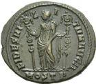 Photo numismatique  ARCHIVES VENTE 2013 -Coll Henri Dolet EMPIRE ROMAIN MAXENCE (Princeps 306 - César 306 - Auguste 306-312)  272- Nummus frappé à Ostie en 309-312.