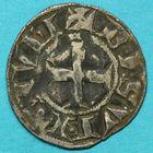 Photo numismatique  MONNAIES BARONNIALES Archevêché de BESANCON (XIIIe siècle) Denier.