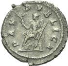 Photo numismatique  ARCHIVES VENTE 2013 -Coll Henri Dolet EMPIRE ROMAIN PUPIEN (238)  255- Denier.