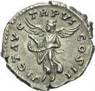 Photo numismatique  ARCHIVES VENTE 2013 -Coll Henri Dolet EMPIRE ROMAIN LUCIUS VERUS (161-169)  254- Denier, frappé à Rome en 165/166.