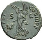 Photo numismatique  ARCHIVES VENTE 2013 -Coll Henri Dolet EMPIRE ROMAIN TRAJAN (98-117)  252- As, frappé à Rome.