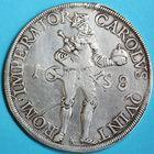 Photo numismatique  MONNAIES BARONNIALES Cité de BESANCON Monnayage au nom de CHARLES QUINT Daldre de 1658.
