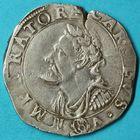 Photo numismatique  MONNAIES BARONNIALES Cité de BESANCON Monnayage au nom de CHARLES QUINT Teston de 8 gros ou quart de daldre de 1624.