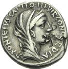 Photo numismatique  ARCHIVES VENTE 2013 -Coll Henri Dolet RÉPUBLIQUE ROMAINE   227- Titus Didius (vers 55). Denier.