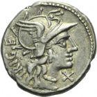 Photo numismatique  ARCHIVES VENTE 2013 -Coll Henri Dolet RÉPUBLIQUE ROMAINE   226- Lot.
