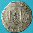 Photo numismatique  MONNAIES BARONNIALES Cité de BESANCON Monnayage au nom de CHARLES QUINT Quart de teston ou 2 gros de 1623.