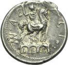 Photo numismatique  ARCHIVES VENTE 2013 -Coll Henri Dolet RÉPUBLIQUE ROMAINE   211-  Man. Aemilius Lepidus (vers 114/113). Denier.