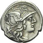 Photo numismatique  ARCHIVES VENTE 2013 -Coll Henri Dolet RÉPUBLIQUE ROMAINE   210- Lot.