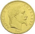 Photo numismatique  ARCHIVES VENTE 2013 -Coll J.R. MONNAIES MODERNES NAPOLEON III, empereur (2 décembre 1852-1er septembre 1870)  192- 50 francs or, Paris 1868.