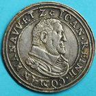 Photo numismatique  MONNAIES BARONNIALES Comté de HANAU-LICHTENBERG JEAN-RENE 1er (1599-1625) Teston ou Tiers de Thaler.