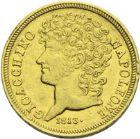 Photo numismatique  ARCHIVES VENTE 2013 -Coll J.R. MONNAIES MODERNES JOACHIM MURAT, roi de Naples et des Deux-Siciles (1808-1815)  179- 20 lire or, Naples 1813.