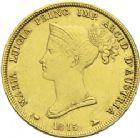 Photo numismatique  ARCHIVES VENTE 2013 -Coll J.R. MONNAIES MODERNES MARIE-LOUISE, duchesse de Parme (1815-1847)  173- 40 lire or, Milan 1815.