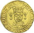Photo numismatique  ARCHIVES VENTE 2013 -Coll J.R. ROYALES FRANCAISES LOUIS XII (8 avril 1498-31 décembre 1514)  69- Ecu d'or au porc-épic de Bretagne du 2ème type, frappé à Nantes en 1515.
