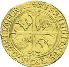 Photo numismatique  ARCHIVES VENTE 2013 -Coll J.R. ROYALES FRANCAISES LOUIS XII (8 avril 1498-31 décembre 1514)  68- Ecu d'or au porc-épic, frappé à Saint-André de Villeneuve-lès-Avignon (19 novembre 1507).