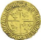 Photo numismatique  ARCHIVES VENTE 2013 -Coll J.R. ROYALES FRANCAISES LOUIS XII (8 avril 1498-31 décembre 1514)  66- Ecu d'or au soleil du Dauphiné, frappé à Montélimar en 1506-1507.
