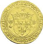 Photo numismatique  ARCHIVES VENTE 2013 -Coll J.R. ROYALES FRANCAISES LOUIS XII (8 avril 1498-31 décembre 1514)  65- Ecu d'or au soleil de Bretagne, frappé à Rennes.