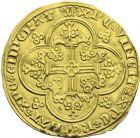 Photo numismatique  ARCHIVES VENTE 2013 -Coll J.R. ROYALES FRANCAISES CHARLES V (8 avril 1364-16 septembre 1380)  43- Franc d'or à cheval du Dauphiné (3 septembre 1364).