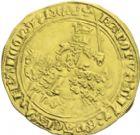 Photo numismatique  ARCHIVES VENTE 2013 -Coll J.R. ROYALES FRANCAISES CHARLES V (8 avril 1364-16 septembre 1380)  42- Franc d'or à cheval (3 septembre 1364).